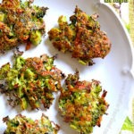 Baked Broccoli Crisps | FoodForYourGood.com #broccoli_crisps