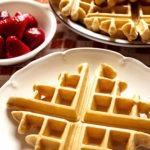 Buttermilk Cinnamon Vanilla Waffles | FoodForYourGood.com #buttermilk_cinnamon_vanilla_waffles