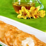 Syrup Optional Pancakes | FoodForYourGood.com #pancakes
