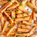 Garlic Herb Roasted Carrots | FoodForYourGood.com #garlic_herb_roasted_carrots